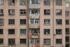 Fenster-Front Stockfotografie