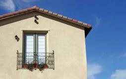 Fenster-Garten Stockfotos