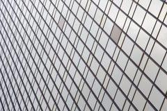 Fenster-Glas-Errichten modern Lizenzfreie Stockfotografie