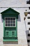 Fenster   Grün im w Lizenzfreies Stockfoto