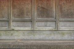 Fenster hölzern Stockbild