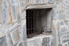 Fenster im alten Haus Lizenzfreie Stockbilder