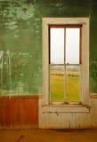 Fenster im antiken Haus Lizenzfreie Stockbilder