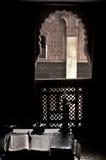 Fenster im heiligen Raum Stockfotos