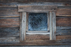 Fenster im Winter stockbild