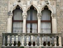Fenster in Kroatien Lizenzfreie Stockfotografie