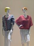 Fenster-Mannequine Lizenzfreies Stockfoto