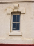 Fenster mit geschlossenem Zeichen Lizenzfreie Stockbilder