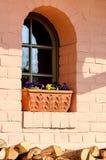 Fenster mit Holz Stockbilder