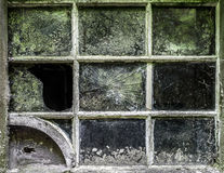 Fenster-Rahmen-Schmutz Lizenzfreies Stockbild