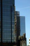 Fenster-Reflexionen Stockfotografie