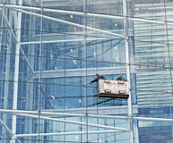 Fenster-Reinigung Lizenzfreies Stockbild