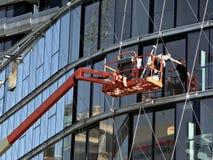 Fenster-Reinigungsmittel Stockfotografie