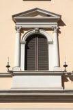 Fenster in Rom Lizenzfreies Stockbild