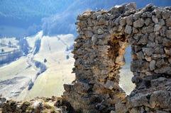 Fenster-Ruinen Lizenzfreie Stockfotos