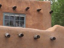 Fenster, Santa Fe Nanometer lizenzfreie stockbilder