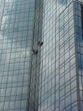 Fenster-Scheiben hohe 5 Stockfotografie