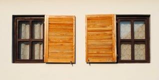 Fenster simetry Stockfotografie