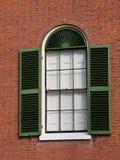 Fenster und Blendenverschlüsse Stockbild
