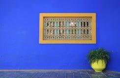 Fenster und Vase Lizenzfreies Stockbild