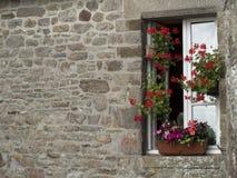 Fenster und Wand Lizenzfreies Stockfoto
