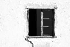 Fenster und Wand Lizenzfreies Stockbild