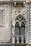 Fenster Venedig Stockbild