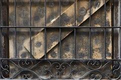 Fenster in verlassenem Haus Lizenzfreies Stockbild