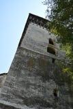 Fenster Verstärkte mittelalterliche sächsische Kirche in Toarcla-Tartlau, Siebenbürgen, Rumänien Stockbild