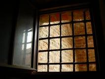 Fenster vom Gefängnis Stockfoto