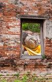 Fenster von Buddha Lizenzfreie Stockfotos