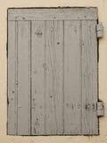 Fenster von Planken Lizenzfreie Stockfotografie