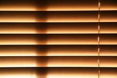Fenster-Vorhänge Stockfotografie