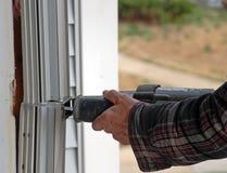 Fenster-Wiedereinbau Stockbilder