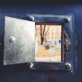 Fenster zu den Toten Stockbilder