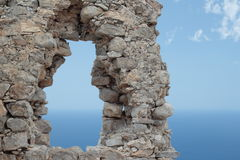 Fenster zum Meer Lizenzfreie Stockfotografie
