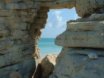 Fenster zum Paradies Lizenzfreie Stockbilder
