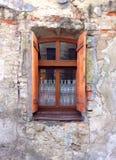 Fenster zur Europa-Stadt lizenzfreie stockfotografie