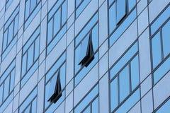 Fenster zwei aufzubauen ist offen lizenzfreies stockfoto