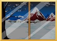 Fensteransicht Lizenzfreie Stockbilder