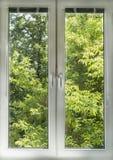 Fensteransichten Stockbild