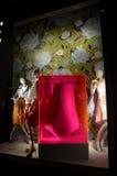 Fensteranzeige bei Bergdorf Goodman in NYC Lizenzfreie Stockfotografie