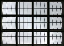 Fensterauszug Stockfoto