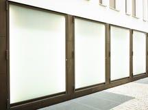 Fensterbildschirmanzeigen Lizenzfreies Stockfoto