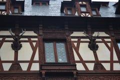 Fensterdekoration Lizenzfreies Stockbild