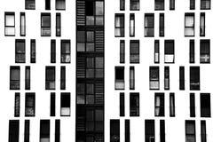 Fensterfassade Lizenzfreie Stockbilder