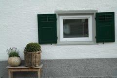 Fensterfensterladen Lizenzfreies Stockfoto