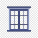 Fensterikone Lizenzfreie Stockbilder