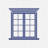 Fensterikone Vektor Abbildung
