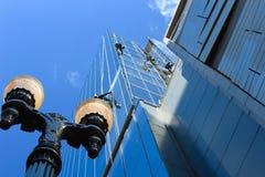 Fensterputzer Stockfotografie